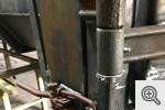 Pojemnik pod hak z klapodrzwiami budowa